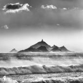 Tempête de vent sur les Sanguinaires ©Thierry Raynaud