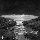 Tunnel inattendu vers le Golfe de Sagone ©Thierry Raynaud