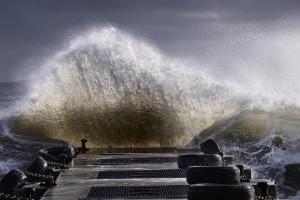 Photos Corse,tempête Corse,vague tempête