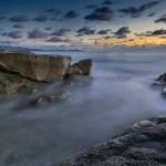 photos corse et photographe corse ,Coucher de soleil méditerranéen dans le golfe d'Ajaccio à la sortie d'Ajaccio sur la route des îles Sanguinaires