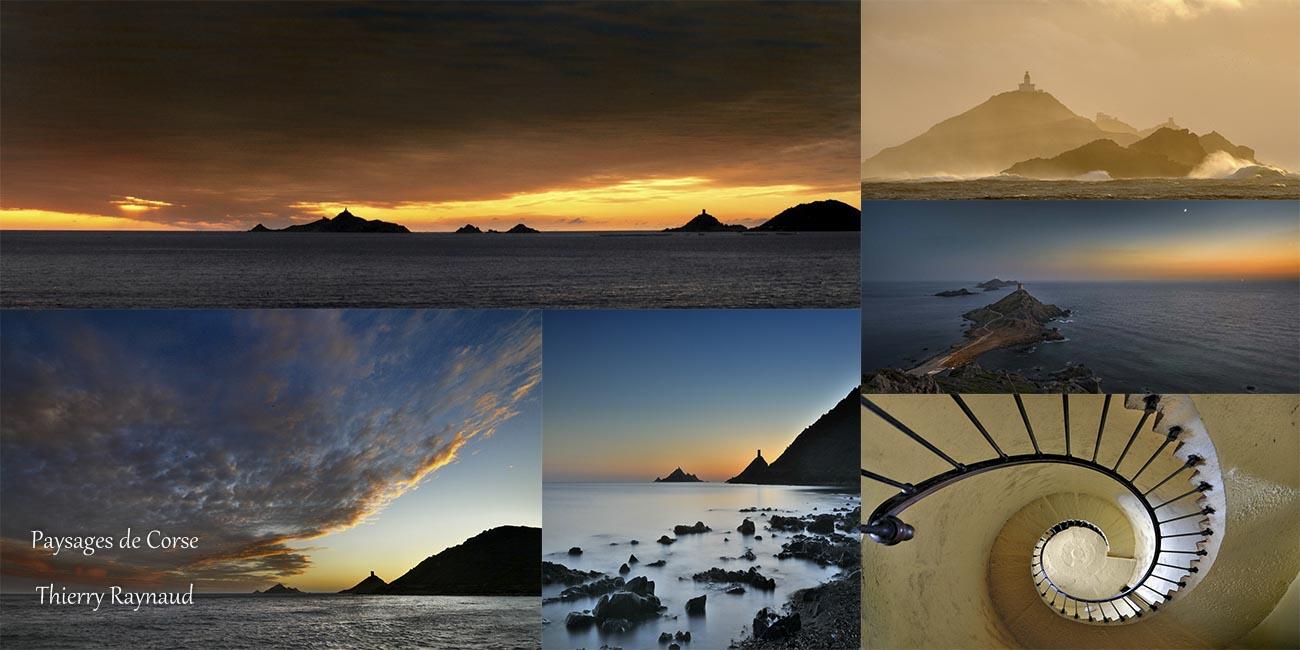 Les Îles Sanguinaires et la Tour de la Parata