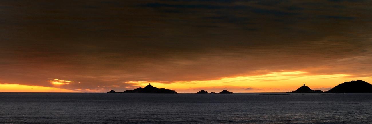 photos paysages corse des iles sanguinaires à Ajaccio pat photographe corse